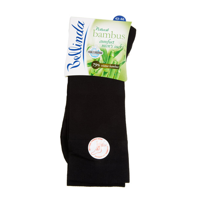 Socks without elastic bellinda, black , 919-6264 - 13