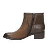Ladies' ankle shoes bata, brown , 696-4605 - 26