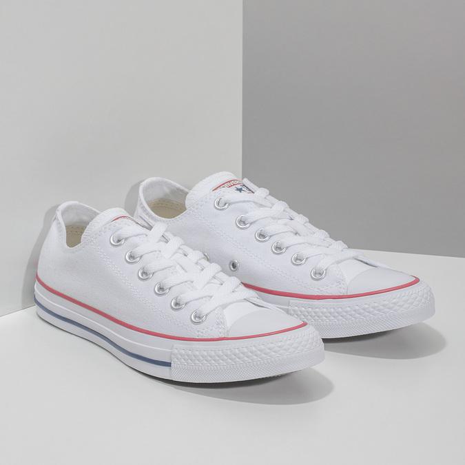 Ladies' tennis shoes converse, white , 589-1279 - 26