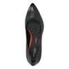 Black leather pumps rockport, black , 724-6110 - 19