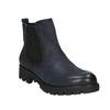 Ladies' ankle shoes bata, blue , 696-9606 - 13