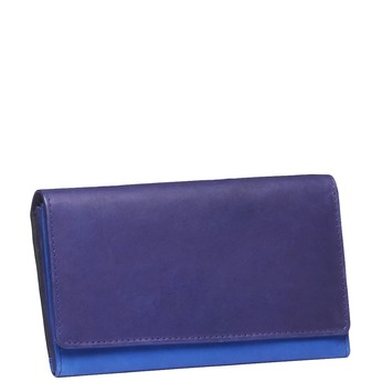 Ladies' leather purse bata, violet , blue , 944-9156 - 13