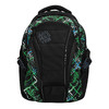 School backpack with printed pattern bagmaster, green, 969-7613 - 19