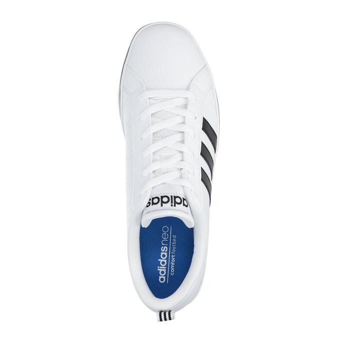 Men's white sneakers adidas, white , 801-1188 - 19