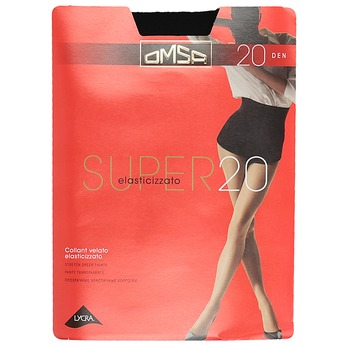Ladies' tights omsa, black , 919-2385 - 13