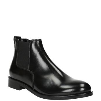 Women's leather Chelsea boots bata, black , 594-6902 - 13