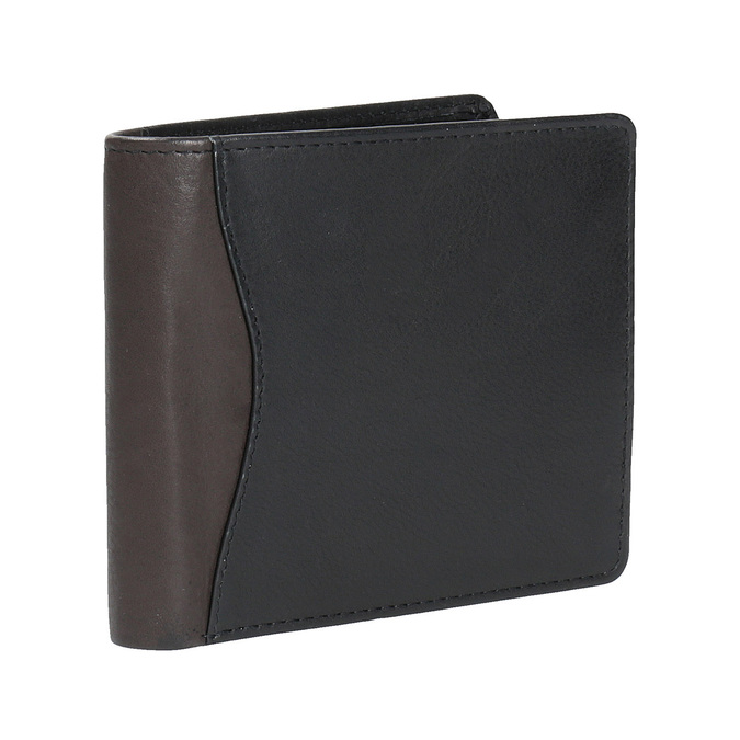 Stylish men's wallet bata, black , 944-6177 - 13
