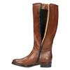 Ladies´ leather Cossacks bata, brown , 596-4608 - 19