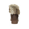 Ladies' ankle boots with fur bata, brown , 591-4601 - 17