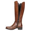 Ladies' leather Cossacks bata, brown , 594-3586 - 19
