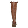 Brown leather high boots bata, brown , 594-4613 - 17