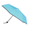 Blue umbrella with dots bata, blue , 909-9601 - 13