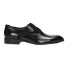 Black leather Oxford shoes conhpol, black , 824-6887 - 15