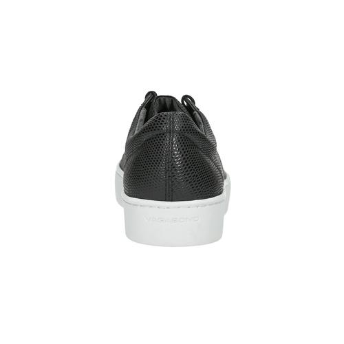 Black leather sneakers vagabond, black , 624-6014 - 17