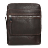 Leather crossbody bag, brown , 964-4237 - 26