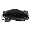Men's leather crossbody bag bata, black , 964-6237 - 15