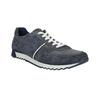 Men's leather sneakers bata, blue , 843-9624 - 13