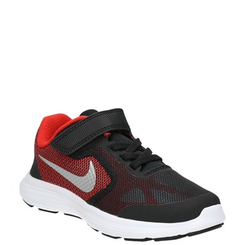 Children's sporty sneakers nike, black , 309-5149 - 13