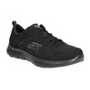 Sneakers with memory foam skechers, black , 509-6963 - 13