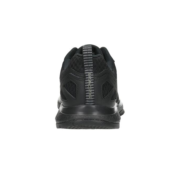 Men's sneakers with memory foam skechers, black , 809-6141 - 17