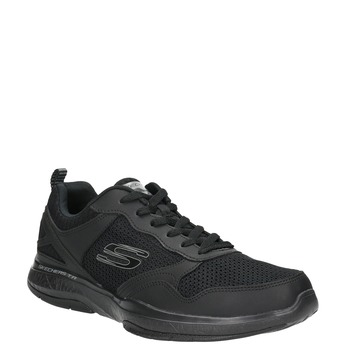 Men's sneakers with memory foam skechers, black , 809-6141 - 13