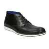 Leather ankle boots with a casual sole bata, black , 826-4818 - 13