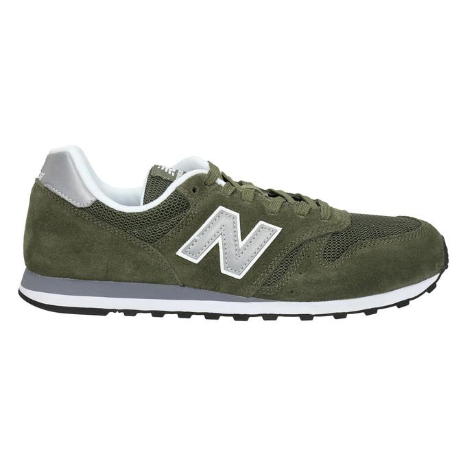 Men's leather sneakers new-balance, khaki, 803-7107 - 15