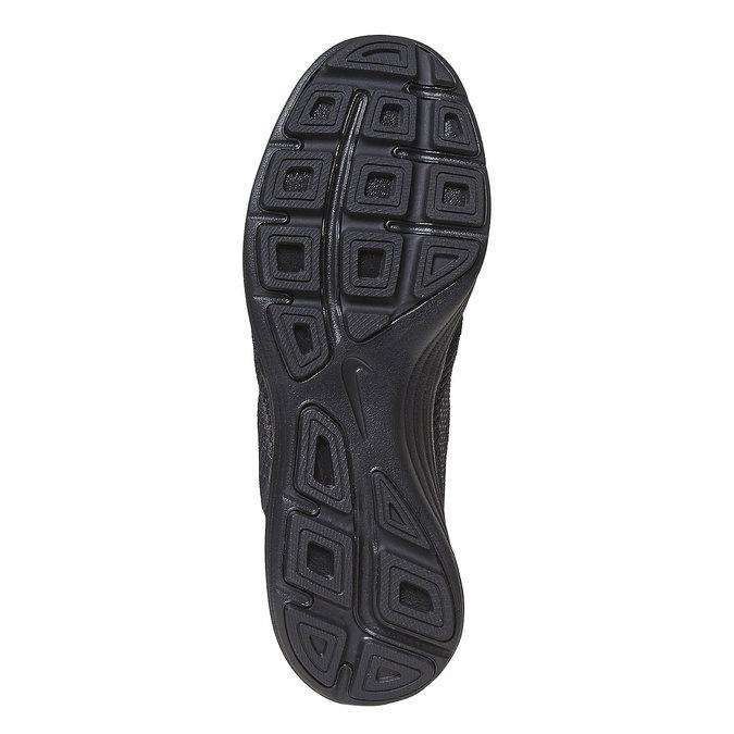 Men's sporty black sneakers nike, black , 809-6149 - 26