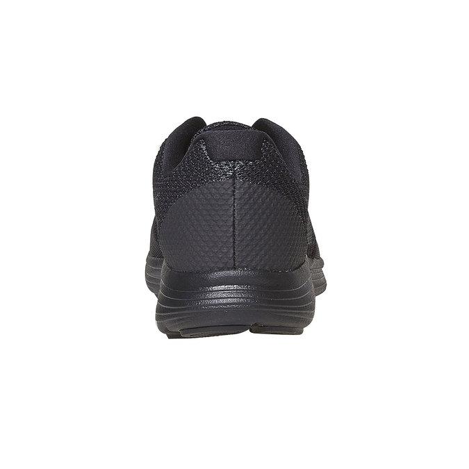 Men's sporty black sneakers nike, black , 809-6149 - 17