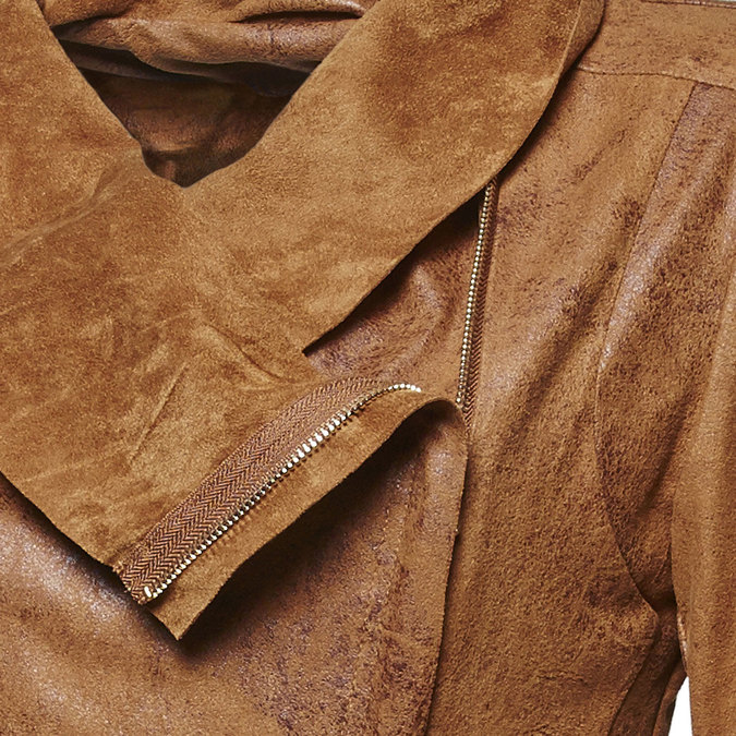 Lightweight ladies' jacket bata, brown , 979-3635 - 16
