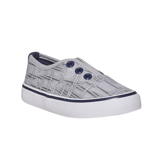 Children's slip-on shoes north-star, gray , 219-2154 - 13