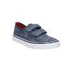 Children's sneakers with Velcro north-star-junior, blue , 219-9611 - 13