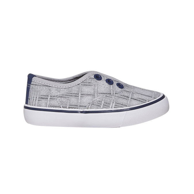 Children's slip-on shoes north-star, gray , 219-2154 - 15