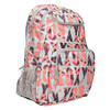 Backpack with coloured pattern roxy, gray , 969-2071 - 13