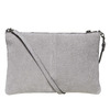 Leather crossbody handbag bata, gray , 963-2135 - 26