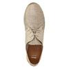 Ladies' leather shoes bata, beige , 526-8629 - 26