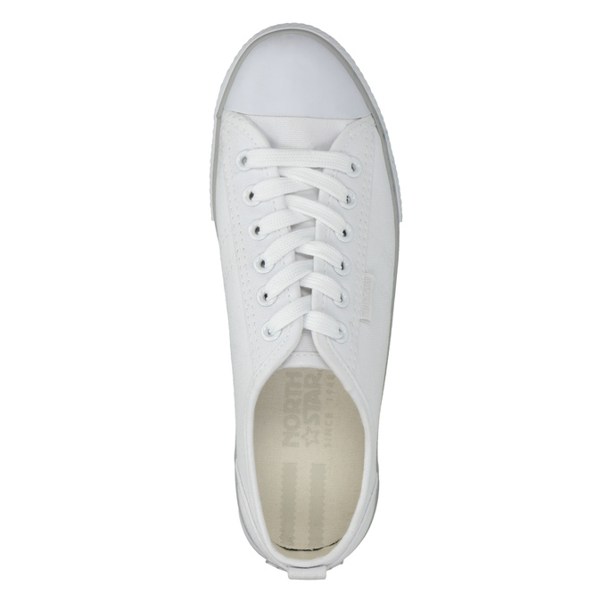 Ladies' casual sneakers north-star, white , 589-1443 - 19