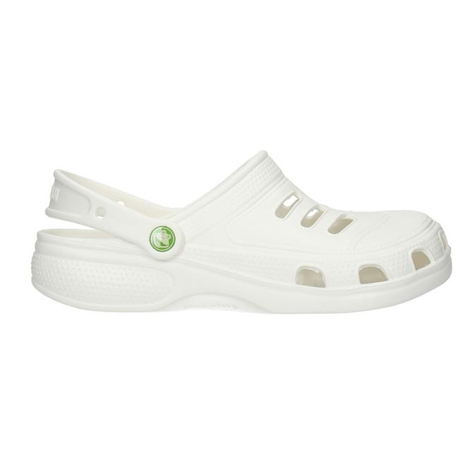 Men's white sandals coqui, white , 872-1616 - 15