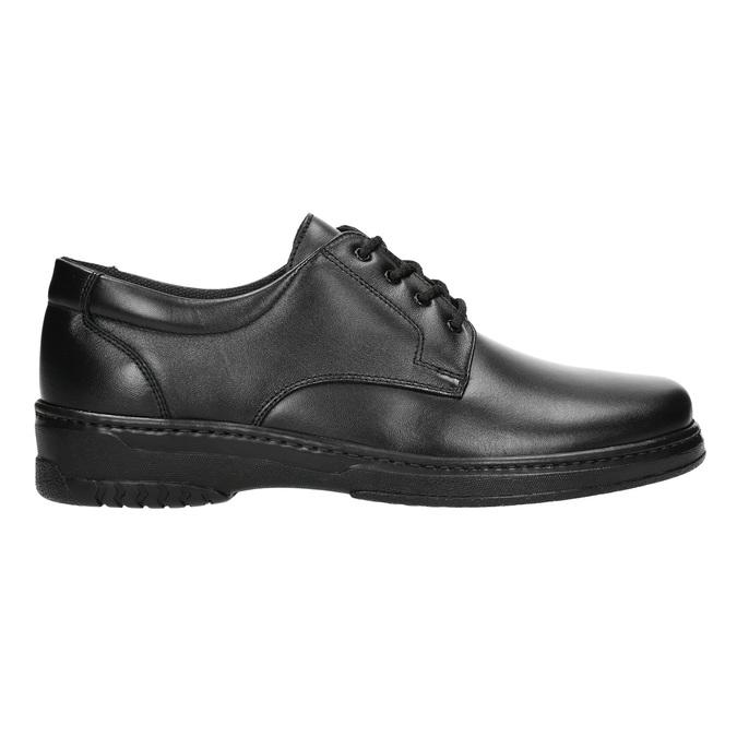 Men's shoes with a distinctive sole, black , 824-6540 - 15