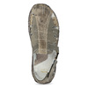 Men's leather sandals bata, brown , 866-2622 - 17