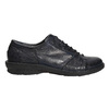 Ladies' leather oxford shoes bata, blue , 526-9640 - 15
