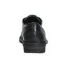 Ladies' leather oxford shoes bata, blue , 526-9640 - 17