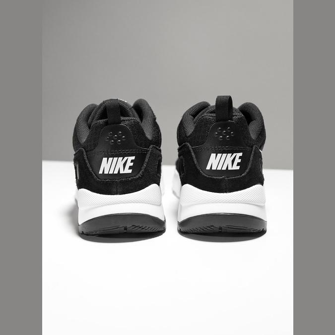Ladies' sneakers with distinctive sole nike, black , 509-1160 - 18