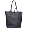 Ladies' leather Shopper handbag bata, blue , 964-9122 - 16