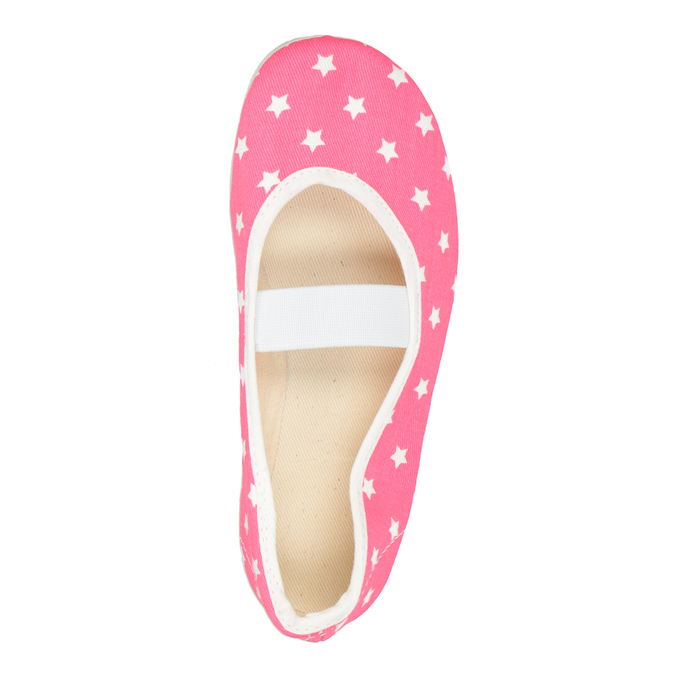 Children's Gym Shoes with Stars bata, pink , 379-5217 - 15