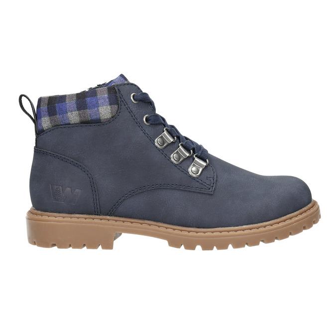 Children's blue winter boots weinbrenner-junior, blue , 411-9607 - 15