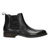 Leather Chelsea Boots bata, black , 894-6400 - 15