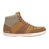 Men's high-top sneakers north-star, brown , 841-3608 - 26