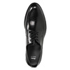 Men's leather Brogue shoes bata, black , 824-6227 - 19