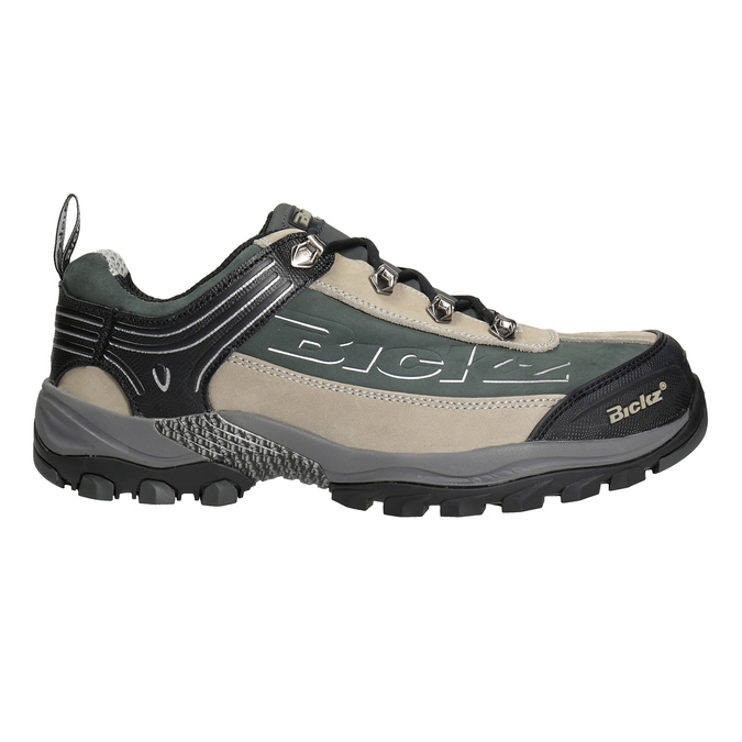 Men's Bickz 201 work shoes bata-industrials, black , 846-6801 - 26